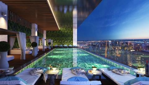 Cho thuê căn hộ chung cư Hanoi Aqua Central 44 Yên Phụ
